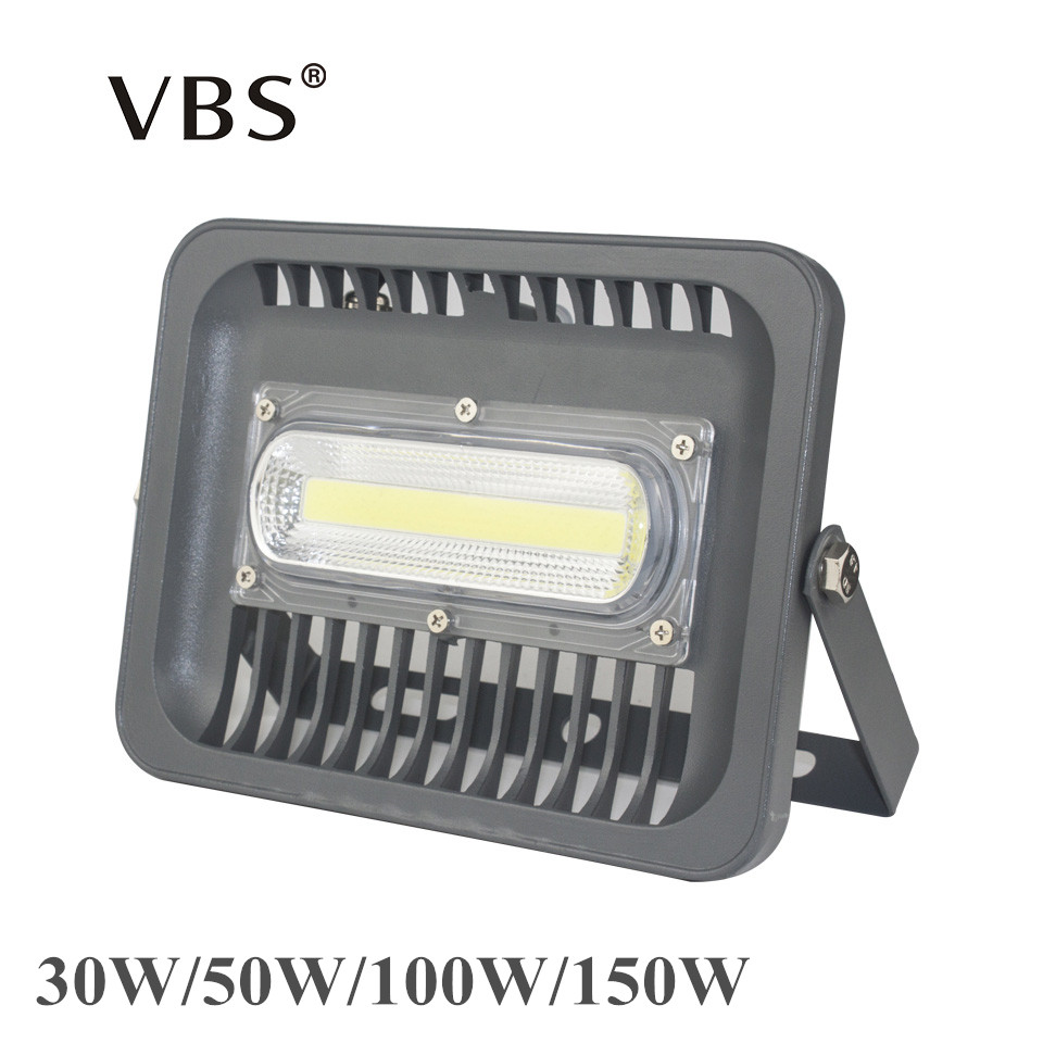 LED Flood Light Projector Waterproof IP66 30W 50W 100W 150W LED Chip Spotlight Outdoor Wall Lamp Garden Refletor LED 220V 110V led flood light projector ip66 waterproof 50w 100w 86 264v led floodlight spotlight outdoor wall lamp garden outdoor lighting