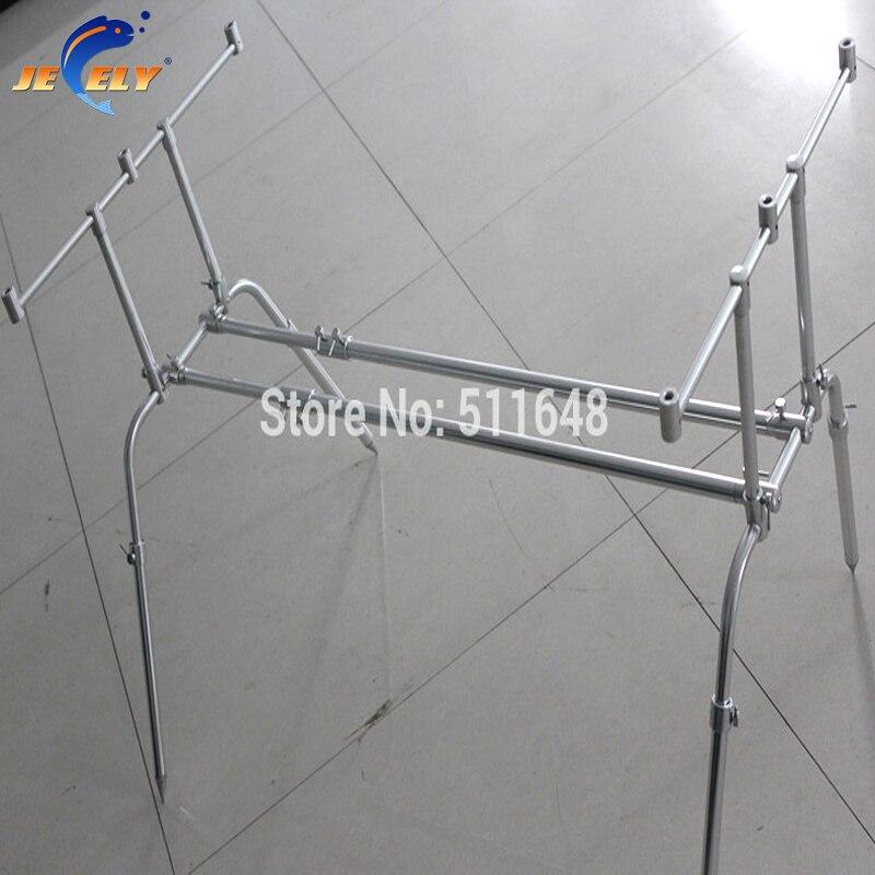 JY-090 Telescopica Alumimum Pesca Alla Carpa Rod Pod, Bite alarm Rod Pod