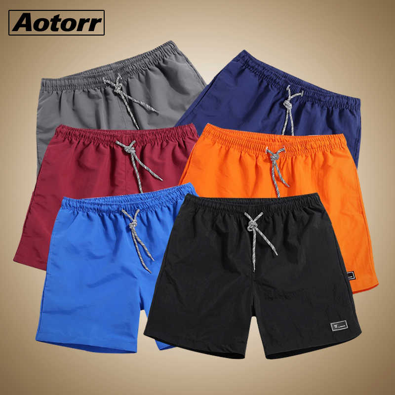 2019 New Shorts Men Summer Plus Size Quick Drying Beach Trousers Casual Sports Short Pants Fitness Sweatsuit Male Beach Shorts