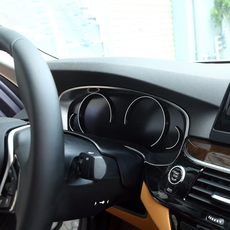 2017 Bmw 6 Series Gt Vs Bmw 5 Series Gt Interior Dashboard: 1PCS ABS Plastic Matt Interior Dashboard Panel Trim For