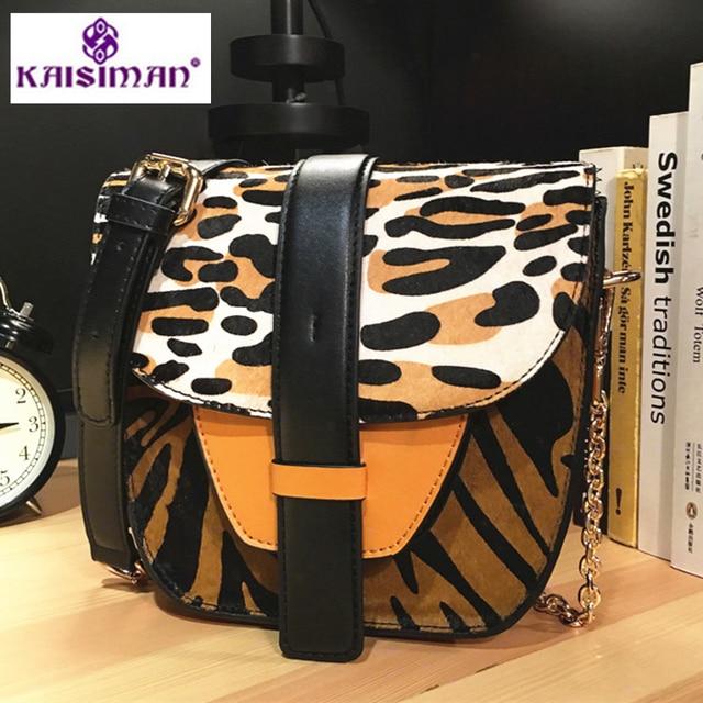 b50c22e867 Luxury Italy Brand Leopard Genuine Cow Leather Shoulder Bag Messenger Bags  Lady Chain Handbags Clutch Famous Designer Sac A Main