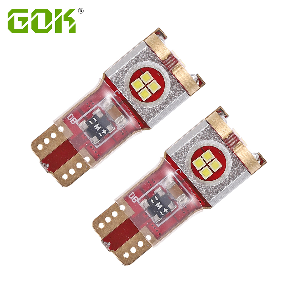 2x Super Bright <font><b>LED</b></font> T10 W5W <font><b>12</b></font> <font><b>SMD</b></font> CSP CHIP 168 194 Canbus No Error Car <font><b>LED</b></font> Auto Clearance Door Reading light image