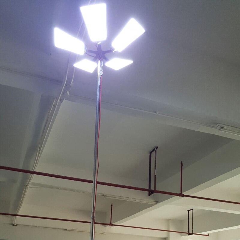 С SASO CO Сертификат 5x150Watt светодио дный Портативный Telescropic Отдых на природе света для сафари по пустыне или барбекю