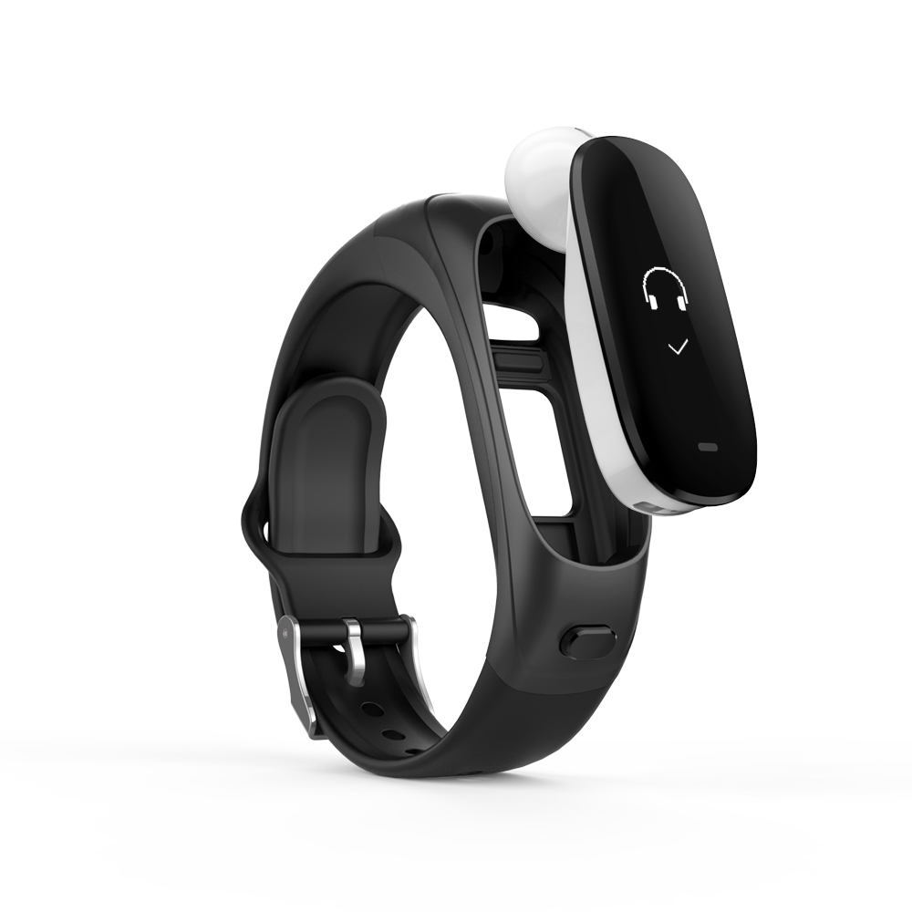 ABAY V08 smart bracelet answer call Bluetooth headset heart rate and blood pressure waterproof fitness tracking smart bracelet