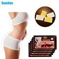100 pcs Sumifun Magreza Emagrecimento Patch Perda De Peso Anti-Celulite Massagem Queima de Gordura Emplastros Medicamentosos Beleza C070