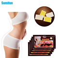 100 pcs Sumifun Thinness Slimming Patch Weight Loss Anti-Cellulite Massage Fat Burning Medicated Plasters Beauty C070
