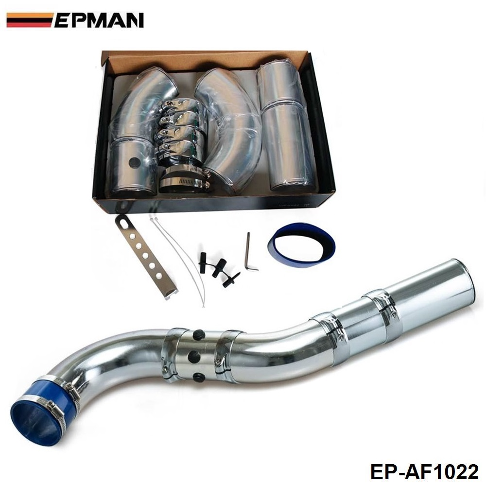 Adjustable Universal Air Intake Pipe/Universal Five Stage Aluminum Alloy Intake Pipe Kit For BMW E36 325 328 EP-AF1022