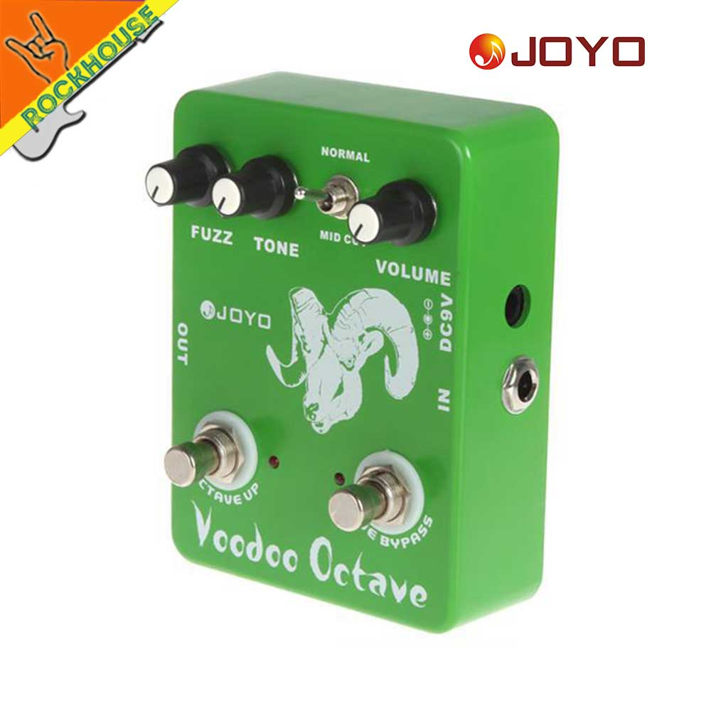 Joyo Fuzz Guitar Effects Pedal Octaver Octave Stompbox Bass 60s Vintage Mkiv Mk2 Free Shipping In Parts Accessories