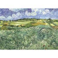 Đồng bằng gần Auvers của Vincent Van Gogh art dầu Canvas sinh sản vẽ tay