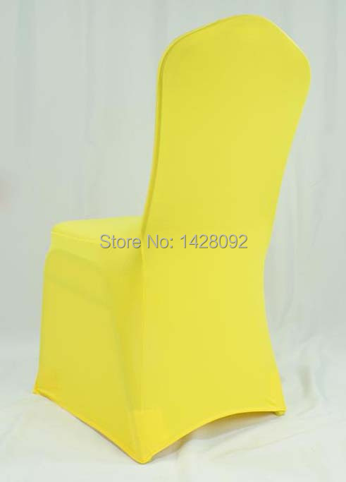 Stupendous Us 52 0 Bright Yellow Spandex Chair Cover For Wedding Chairs Banquet Chairs Chiavari Chairs In Chair Cover From Home Garden On Aliexpress Com Machost Co Dining Chair Design Ideas Machostcouk