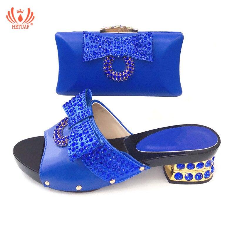 Negro Color A Juego Para Con rojo oro Nigeriana Mujer azul Tacones plata amarillo Cristal Y Cómodos Italiano Amarillo Nuevo Zapatos Boda Bolso a8qwAdw