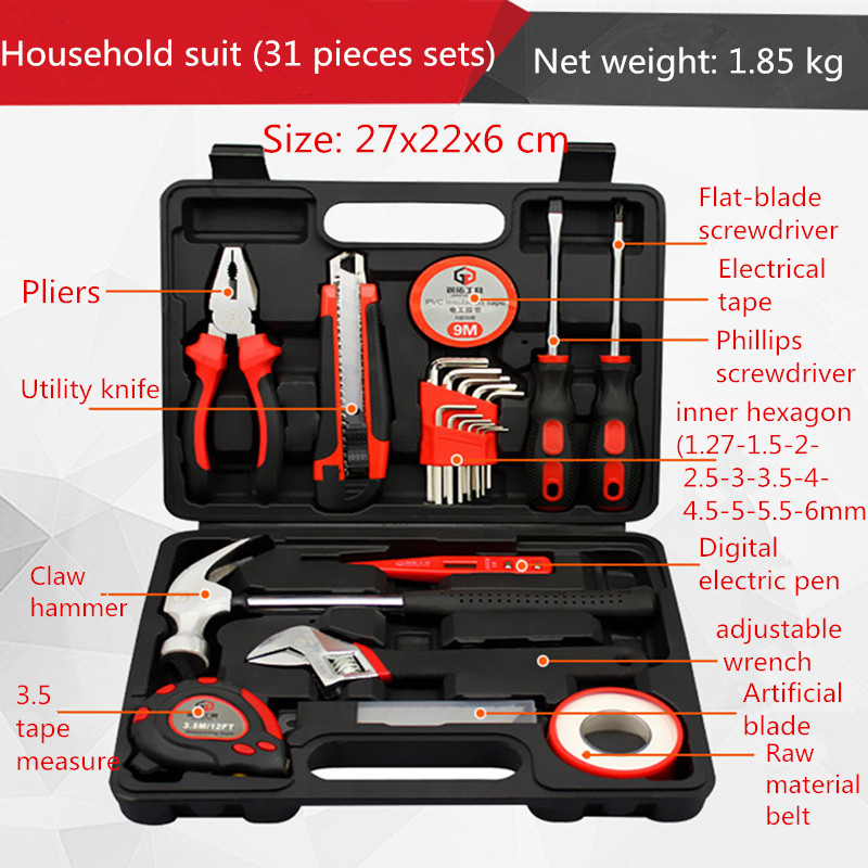 31 pieces household tools set electrician maintenance manual paul rosenberg audel electrician s pocket manual