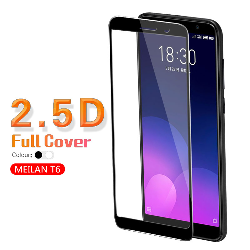 Colorful Full Coverage Tempered Glass For <font><b>Meizu</b></font> <font><b>M6T</b></font> Meilan 6T Blue Charm 6T <font><b>M811H</b></font> M811Q Screen Protector Film Glass Front Cover image