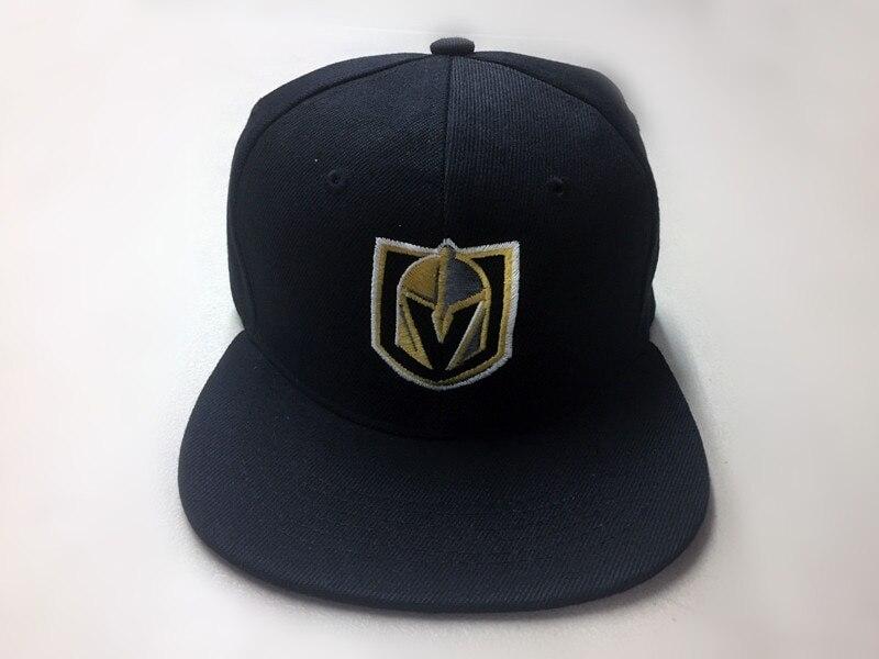 Las Vegas Golden Knights Snap Back Cap Hat Embroidered Adjustable Flat Bill baseball  cap men women 07152ab70