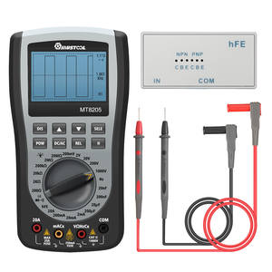 Multimeter Current Oscilloscope Frequency-Tester Mustool Mt8205 Digital Voltage-Resistance
