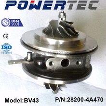 KKK turbocharger cartridge BV43 282004A470FF Turbine 53039700122 chra for KIA Sorento 2.5 CRDi
