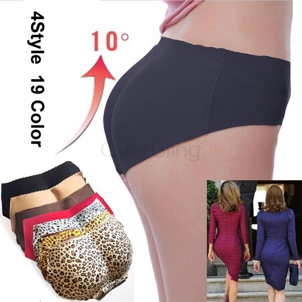 f9f207414f535 2014 Hot Sale New Underwear Women Bottom Buttock Bun Enhancement Padded Brazilian  Pants Shapewear Briefs on Aliexpress.com