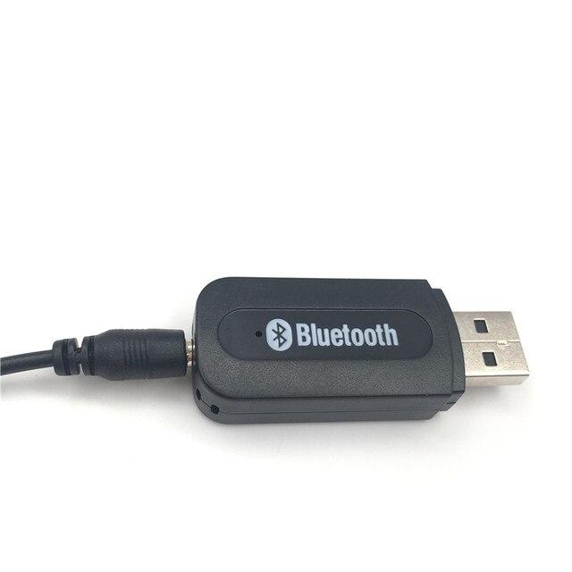 USB Bluetooth Aux Không Dây Di Động Mini Xe Bluetooth Âm Nhạc Âm Thanh Receiver Adapter 3.5mm Stereo Âm Thanh cho iPhone điện thoại Android