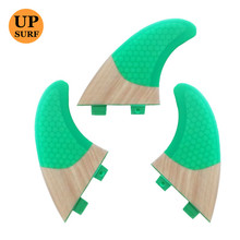 Surf fins Free Shipping FCS-Fins-G5 Bamboo Base Fins On Sale Quilhas FCS Fin de Surf Surfboard Fin
