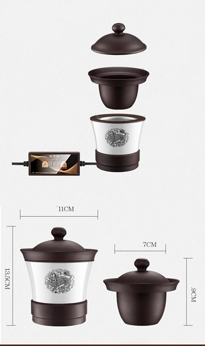 Mini Ceramic Heater Machine Coffee Tea Herbs Dry Food Roaster for Reheating the Coffee Bean Tea or Herbs Dry Food 15 pcs puer tea high quality chinese yunnan pu er tea mini pu er tuocha puerh tea lose weight organic green food
