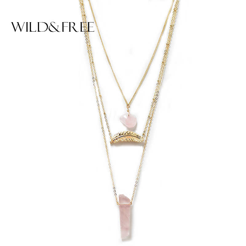 a78e486aacfa5 Detail Feedback Questions about Women 3 Layer Necklace & Pendant ...