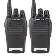 2個人気ブラックbaofeng BF 777Sポータブル双方向ラジオセットバオ風水777 uhf fmラジオトランシーバー400 470 mhz