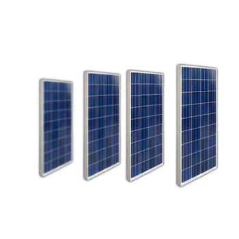 Panneau Solaire 12v  100w 4 Pcs Solar Modules 48v 400w Solar Home Lighting System Boat Motorhome Camp Car Battery Solar Charger