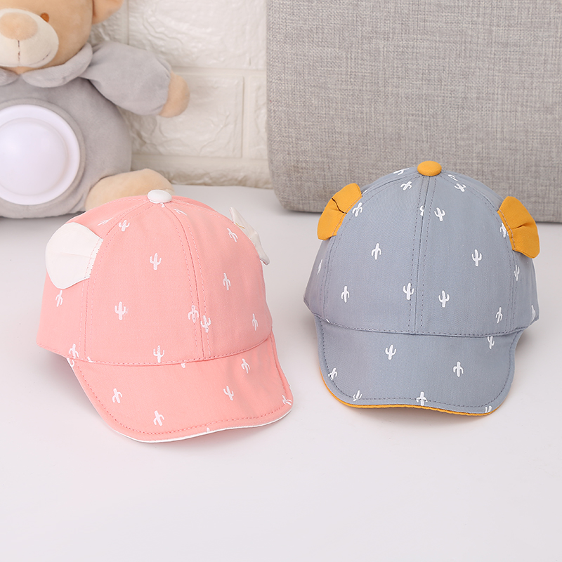 aae15f3855da14 2019 Cotton Newborn Baby Beanies Boys Girls Caps Cartoon Baby Hats Lovely  Infant Caps Baby Sun Hats For 3-24 month