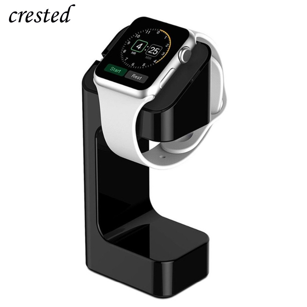 Stand For Apple Watch 4/3/2/1 Charger 42mm/38mm IWatch Band Strap Magnetic Wireless Charger Stand Station Watch Accessories