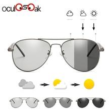 2019 Photochromic Sunglasses Men Polarized Goggles Male Driving Pilot Sun glasses for men UV400