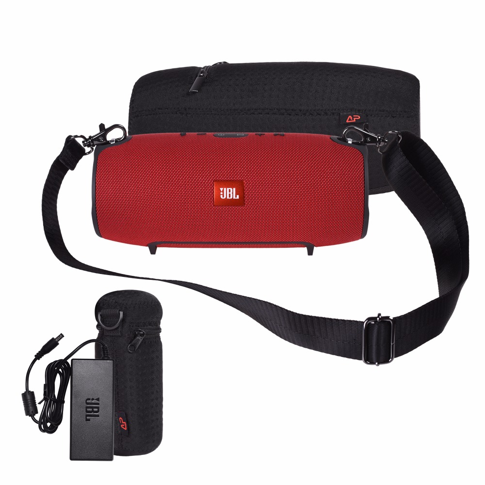 Brand New Russia Storage Travel Carrying Nylon Bag Cover Case For JBL Xtreme Bluetooth Speaker Case-Extra Space for Plug&Cables