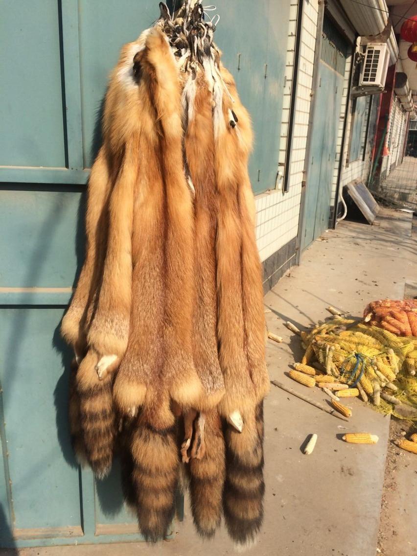 Real Red Fox Fur Skin / Velkoobchod Fox Skin Price / Natural Red Fox Fur Skin
