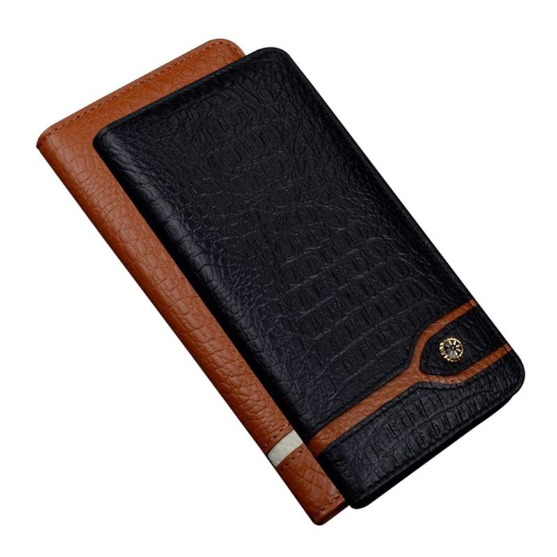 JC05 Genuine Leather Magnet Flip Case For HTC U12 Plus Phone Case For HTC U12 Plus Phone Bag Free Shipping