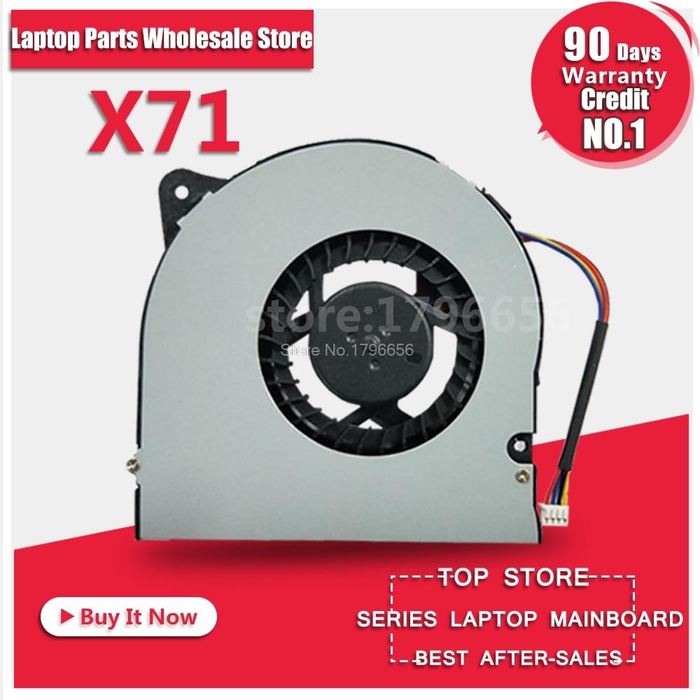 Radiator For ASUS X71 X71S X71SL N90 N70 M70 F90SV F70SL G71 G71GX G71G UDQFLZH22DAS KDB0705HB 7H95 Laptop CPU Cooling Fan