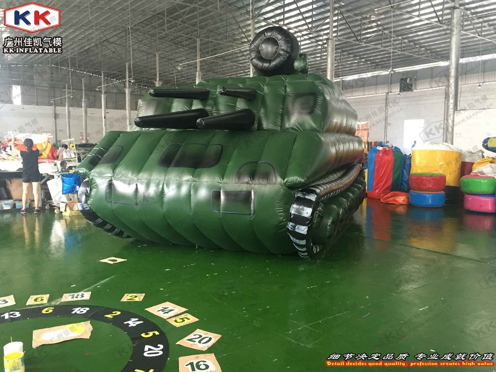 giant Inflatable tank inflatable hot sale car inflatable army tank for advertising or display