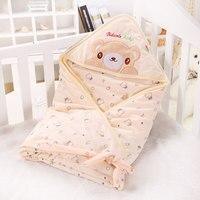 90*90CM Baby Stroller Sleeping Bag Cartoon Cotton Fall Winter Warm Sleepsacks Newborn Envelope For Kids Pram Boys Girls