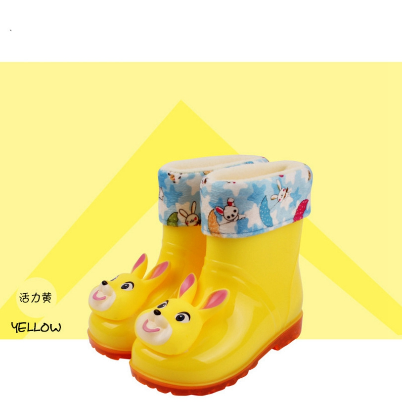 2017 baby new led cute candy color childrens boots and ring with dual-use shoes