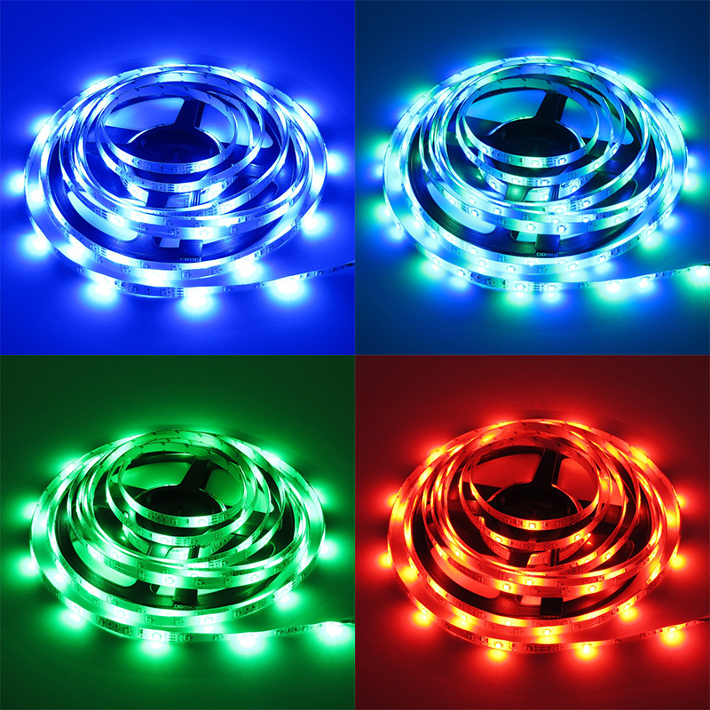Smd 2835 waterproof rgb led rope light dc 12v low voltage led strip smd 2835 waterproof rgb led rope light dc 12v low voltage led strip lighting 5m 10m 15m kit with ir music led controllerpower in led strips from lights aloadofball Gallery