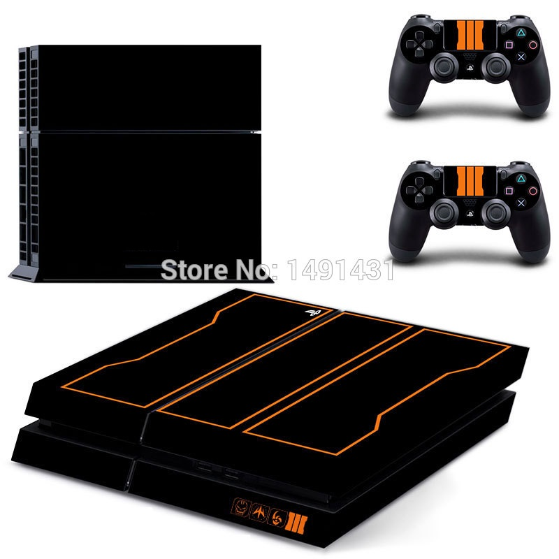 OSTSTICKER Pro Gamer For Black Protective Skin For SONY Playstation 4 Decal Stickers For PS 4 Cover