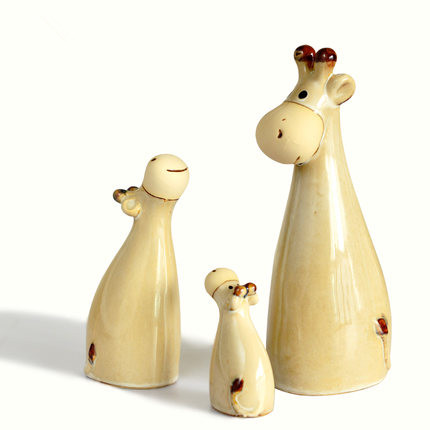 Family Ceramic Arts And Crafts Furnishing Articles Gifts Household Items Sitting Room Decorate Desktop Decoration Free Shipping