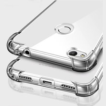 Shockproof Clear Soft Silicone Armor Case for Huawei P Smart Y9 Y6 Y7 2019 Mate 20 Pro 10 P30 P20 Lite honor 8X 8A 9 Lite Case(China)