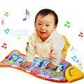 Piano música peixe animal mat toque kick play fun toy para o miúdo do bebê da criança presentes 1 pc dh1u