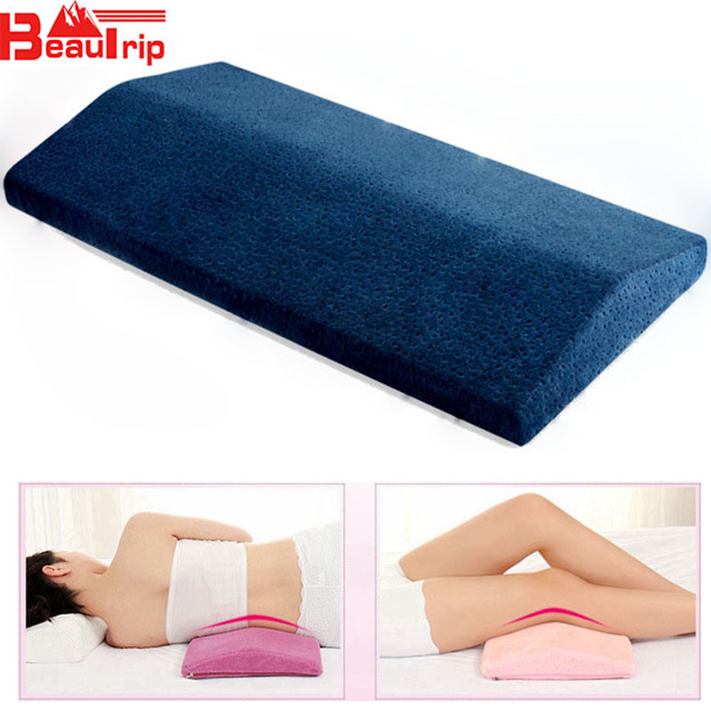Lumbar Pillow For Sleeping Spinal Support Cushion Lower