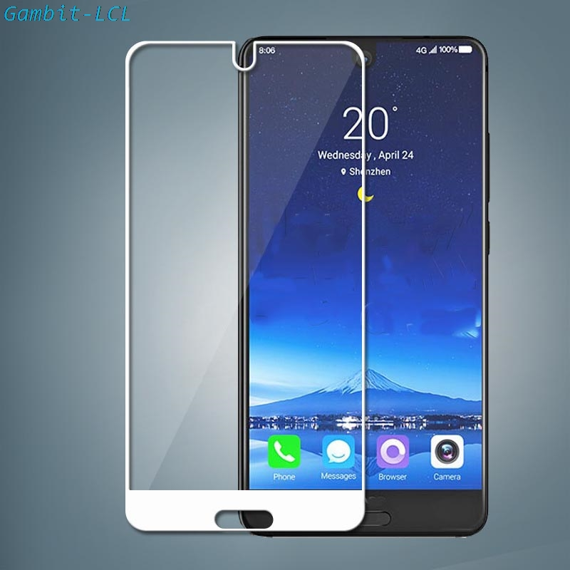 "2PCS For Sharp Aquos S2 / C10 5.5"" Glass Screen Protector Full Cover Tempered Glass Protective 9H 2.5D Glass Film"