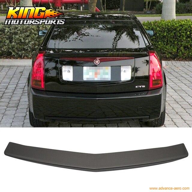 Para 03 07 Cadillac Cts Sedan Negro Mate Posterior Del Tronco Alerón ...