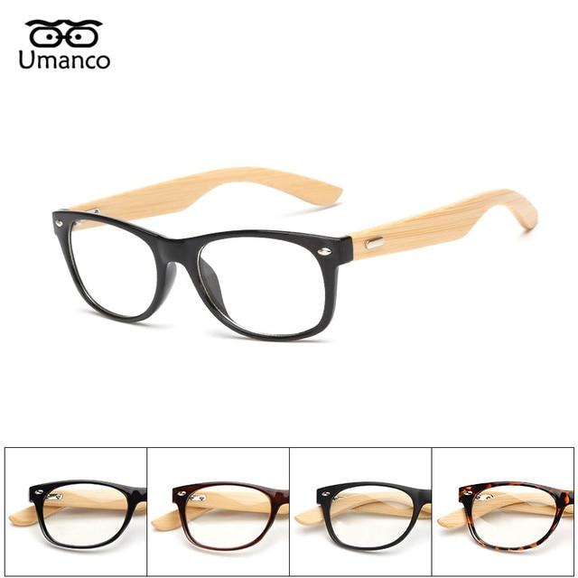 edafe3e72e295 Umanco 2017 Novo Designer Da Marca de Óculos De Sol De Bambu para As  Mulheres Homens