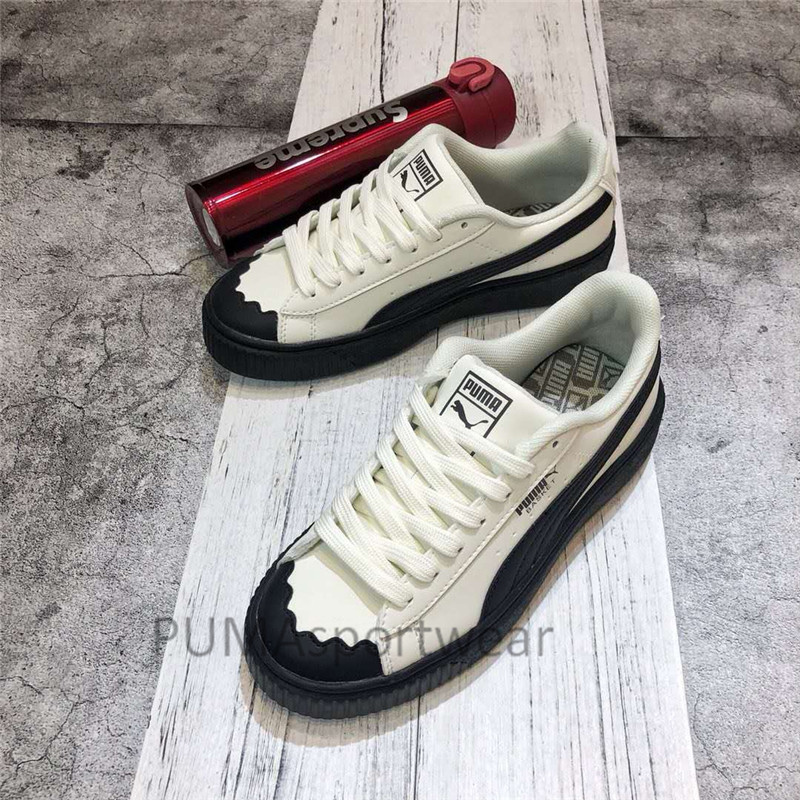 Arrival Deals And 40Shopping Women's For Clothing Original Badminton Discounts Basket Puma Sneakers New Shoes Size36 Heart Breathable 54ALqR3j