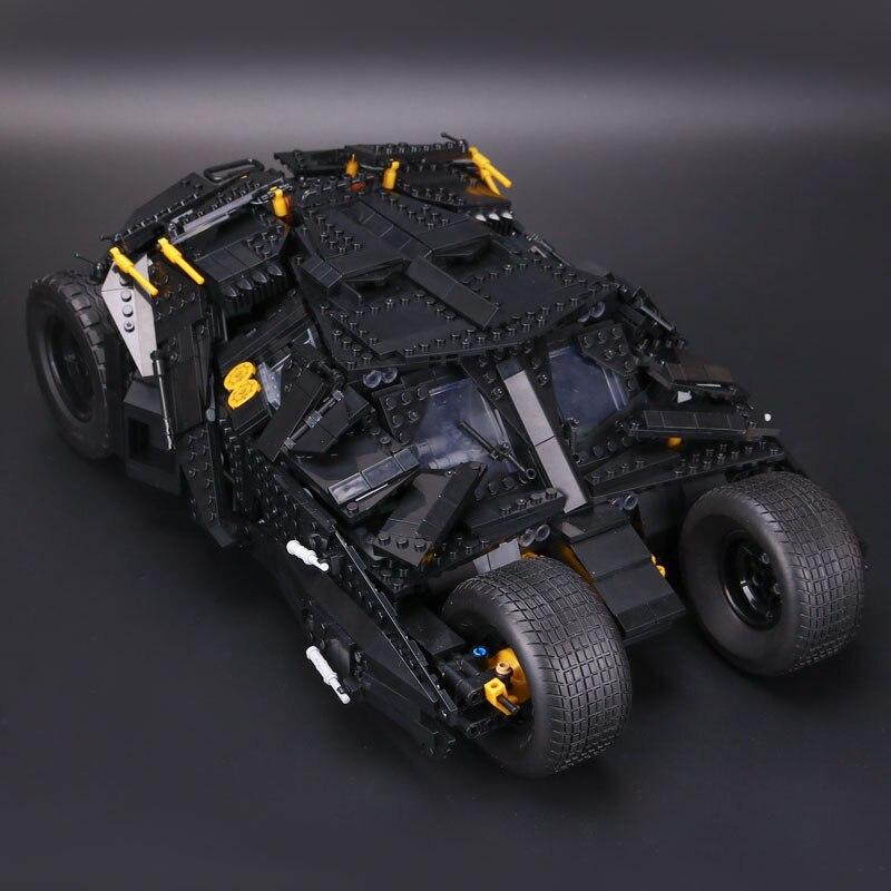 Lepin 07060 1969pcs Super Heroes Batman Chariot The Tumbler Batmobile Batwing Building Blocks Bricks LegoINGlys Toys Gifts стоимость