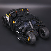 Lepin 07060 1969pcs Super Heroes Batman Chariot The Tumbler Batmobile Batwing Building Blocks Bricks LegoINGlys Toys Gifts