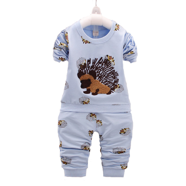 New Arrival 2017 Spring Autumn Newborn Clothing Set Baby Girl Clothes Tracksuit Long-sleeve T-shirt+causal pants two piece suit